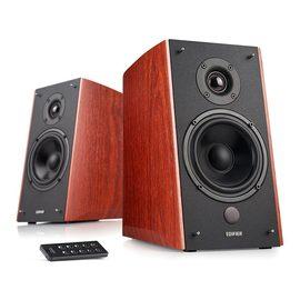 漫步者(Edifier) R2000DB 5寸无线蓝牙音箱 2.0多媒体家居音响 出色版 木纹色(一对装)