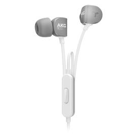 爱科技(AKG) Y20U 中低频温暖音色 线控通话入耳式耳机 (灰色)