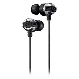 杰伟世(JVC) HA-FX33X 入耳式耳机 超重低音DJ音乐魔音耳塞 (银色)
