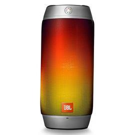 JBL PULSE2 户外便携无线蓝牙炫彩音箱 HIFI迷你音箱 (银白色)