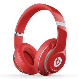Beats studio Wireless 无线蓝牙录音师耳机 头戴式降噪电脑手机耳机 (红色)