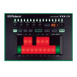 罗兰(Roland) TB-3 触屏式贝斯合成器