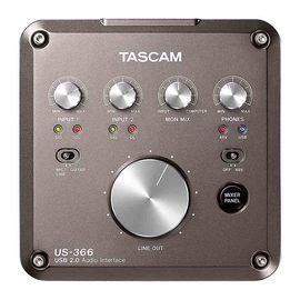 TASCAM US366  专业录音外置USB声卡 4进6出