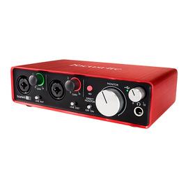 富克斯特(Focusrite) Scarlett 2i2二代 专业录音 USB外置声卡 音频接口升级版