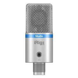 IK(IK-Multimedia) iRig Mic Studio 大振膜USB电容话筒 (银色)