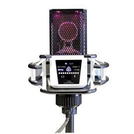 莱维特(LEWITT) DGT260 自带声卡直播K歌录音电容麦克风 (白色)