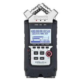 ZOOM H4n Pro 便携式4轨数码录音机 音乐/电影/采访同期录音机