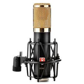 原飞乐(EDMiCN) ED206 大振膜电容麦克风 网络K歌录音话筒 (金色)
