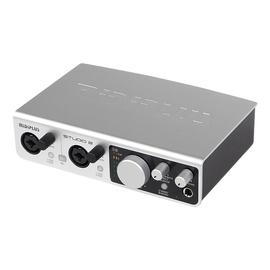 美派(MIDIPLUS) STUDIO 2 专业K歌录音监听声卡 USB声卡 高清音频接口