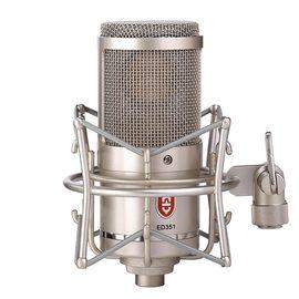 原飞乐(EDMiCN) ED351 专业大振膜录音麦克风 K歌直播配音话筒