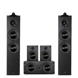 惠威(HiVi) Diva5.0 家庭影院音响套装5.1环绕hifi组合木质音箱