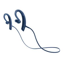 索尼(SONY) MDR-XB80BS 无线蓝牙耳机运动防水线控通话 (蓝色)