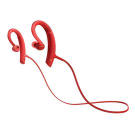 索尼(SONY) MDR-XB80BS 无线蓝牙耳机运动防水线控通话 (红色)