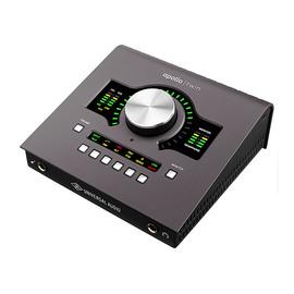 Universal audio Apollo Twin MKII QUAD 2进6出雷电音频接口阿波罗录音声卡 (四核)