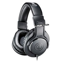 铁三角(Audio-technica) ATH-M20x头戴式耳机 专业录音音乐K歌监听