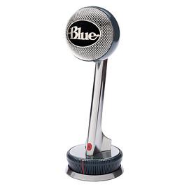 Blue Nessie电容麦克风话筒USB专业录音 主播直播电脑K歌唱吧话筒