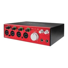 富克斯特(Focusrite) Clarett 4Pre 18进8出 雷电接口 录音编专业声卡 音频接口