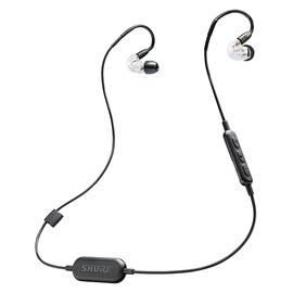 舒尔(SHURE) SE215-BT1 无线蓝牙入耳式线控音乐耳机 带耳麦 (透明色)