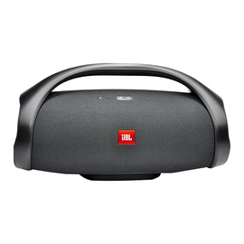 JBL Boombox音乐战神无线蓝牙音箱便携迷你户外音响hifi双低音(黑色)