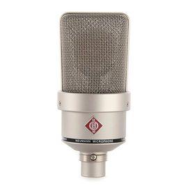 纽曼(Neumann) TLM103 电容式录音麦克风 大振膜主播直播K歌话筒 小U87【德国进口】(银灰色、不带防震架