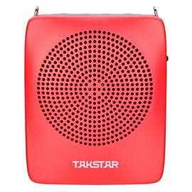 得胜(TAKSTAR) E128 小迷你教师专用大功率导游便携式扩音器 (红色)