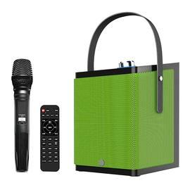 鑫宝视(monpos) Stylebox P1 直播K歌无线蓝牙音箱 单麦 带声卡效果(绿色)