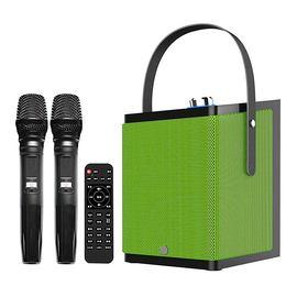 鑫宝视(monpos) Stylebox P1 直播K歌无线蓝牙音箱 双麦 带声卡效果 (绿色)