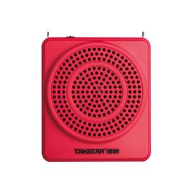 得胜(TAKSTAR) E180M 便携式扩音器(支持插卡、U盘功能) (红色)