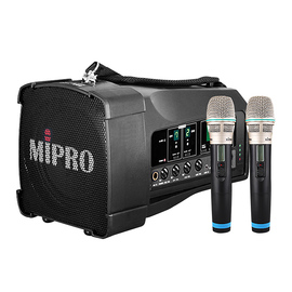 咪宝(MIPRO) MA-100DB 50W便携式无线扩音器 户外移动音箱 会议/广场舞/户外宣传音响(配手持麦)