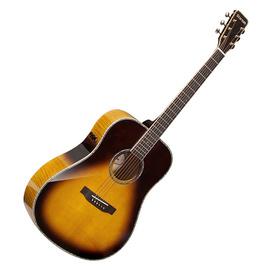 星臣(Starsun) DF60E 41寸单板圆角民谣吉他 电箱款(日落色)