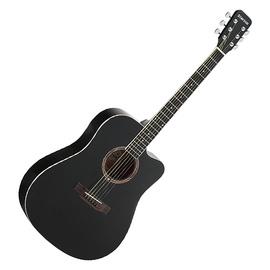 星臣(Starsun) DG120C-P 41寸缺角民谣木吉 他初学入门吉他 (黑色亮光)
