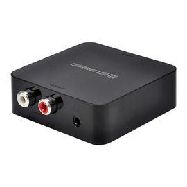 绿联(UGREEN) 数字光纤同轴音频转换器转RCA数字转模拟莲花转3.5电视接音响