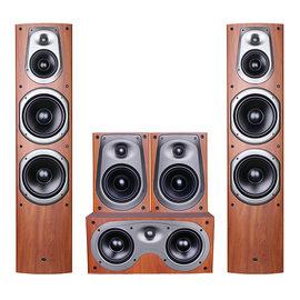 惠威(HiVi) D600 家庭影院音响套装 5.0家用客厅木质HIFI环绕音箱