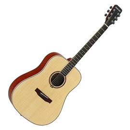 星臣(Starsun) DG220-P 41寸初学民谣吉他 圆角入门木吉他 (原木哑光色)