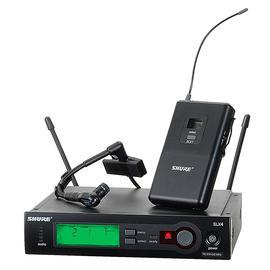 舒尔(SHURE) SLX14/BETA98H 无线乐器微型麦克风 萨克斯铜管乐器话筒