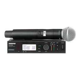 舒尔(SHURE) ULXD24/SM58  专业数字手持无线麦克风 舞台演出话筒一拖一