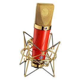 纽曼(Neumann) U87 Ai 专业录音电容麦克风 主播直播网络K歌麦克风话筒【德国进口】(中国红限量版)