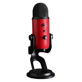 Blue Yeti 雪怪专业电容话筒麦克风K歌录音直播USB直插麦克风 (波尔多红)