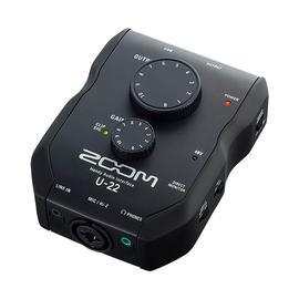 ZOOM U-22  2进2出便携式音频接口/直播声卡 支持唱吧/映客手机直播