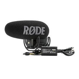 罗德(RODE) VideoMic Pro Plus 单反/摄像机电容式枪型采访麦克风 视频拍摄影视同期录音话筒
