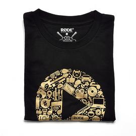 罗德(RODE) 定制版主题T恤2 XS码