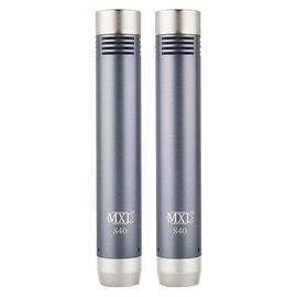 麦克思乐(MXL) 840 PAIR 小振膜电容话筒吉他钢琴乐器录音麦克风(一对装)