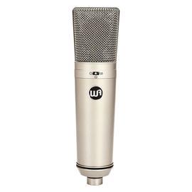 Warm Audio WA87 专业录音主播直播K歌麦克风 大振膜多指向电容话筒 U87复刻版