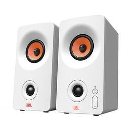 JBL PS3300无线2.0蓝牙音响 电脑桌面手机多媒体音箱 (白色)