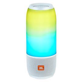 JBL PULSE3音乐脉动3炫彩蓝牙音箱无线防水户外便携音响 双低音炮 (白色)