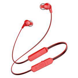 JBL T120BT 无线蓝牙耳机 运动跑步手机音乐入耳式耳塞带线控 (红色)