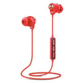 JBL UA 1.5 升级版安德玛无线蓝牙耳机 运动跑步入耳式耳塞带线控 (红色)
