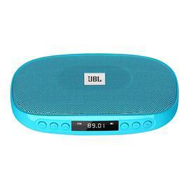 JBL SD-18 无线蓝牙音箱 户外便携式多功能音响 插卡FM收音(蓝色)
