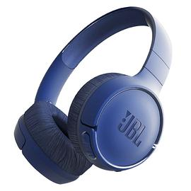 JBL T500BT 头戴式无线蓝牙耳机 音乐运动便携重低音耳麦带线控(蓝色)