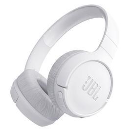 JBL T500BT 头戴式无线蓝牙耳机 音乐运动便携重低音耳麦带线控  (白色)